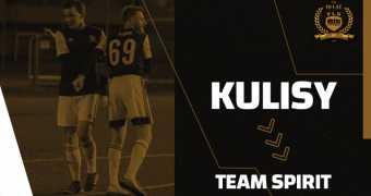 Kulisy z meczu Team Spirit - NZS UEK FC